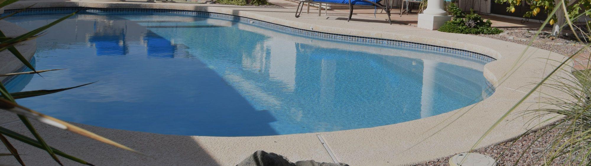 Bild eines Pools